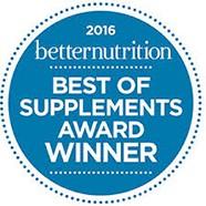 2016 Best of Supplements Winner