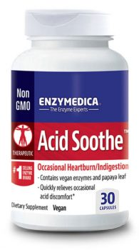 Acid Soothe for Occasional Heartburn and Indigestion from Enzymedica