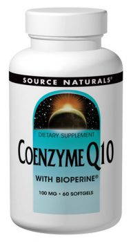 CoQ10 with Bioperine from Source Naturals
