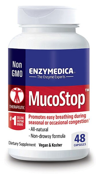 MucoStop from Enzymedica