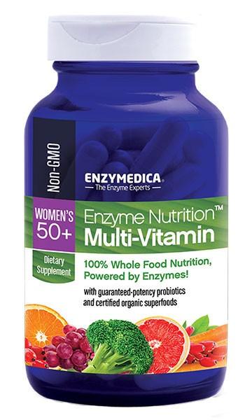 Enzyme Nutrition Multi-Vitamin Women's 50 plus from Enzymedica
