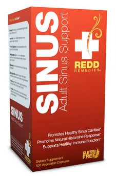 adult sinus support from Redd Remedies