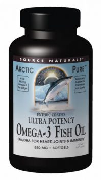Arctic Pure Omega 3 Fish Oil from Source Naturals