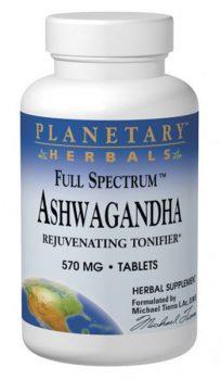 Ashwagandha from Planetary Herbals