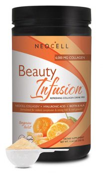 Beauty Infusion Tangerine Flavored Collagen Drink Mix from NeoCell