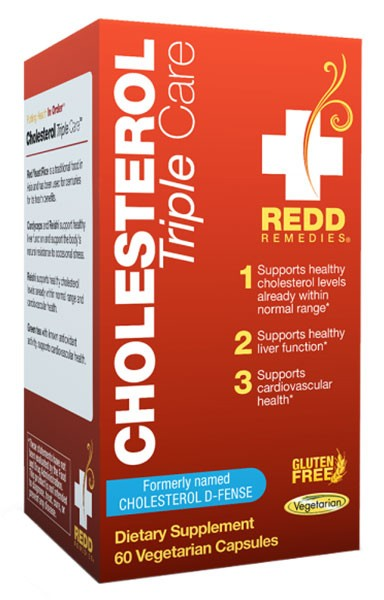 cholesteral triple care from Redd Remedies