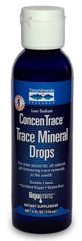 ConcenTrace Mineral Drops from Trace Minerals Research