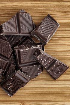 Dark chocoate squares