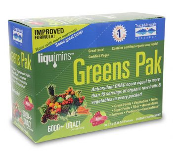 Greens Pak from Trace Minerals