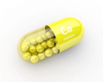 pills with calcium Ca element dietary supplements