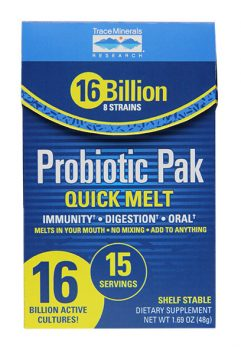 Probiotic Pak Quick Melt from Trace Minerals Research